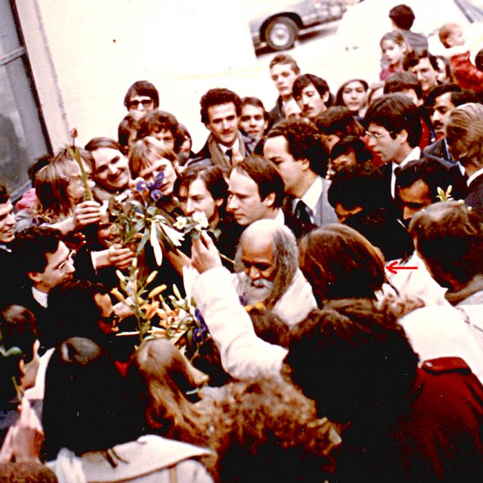 Maharishi Mahesh Yogi in Italien